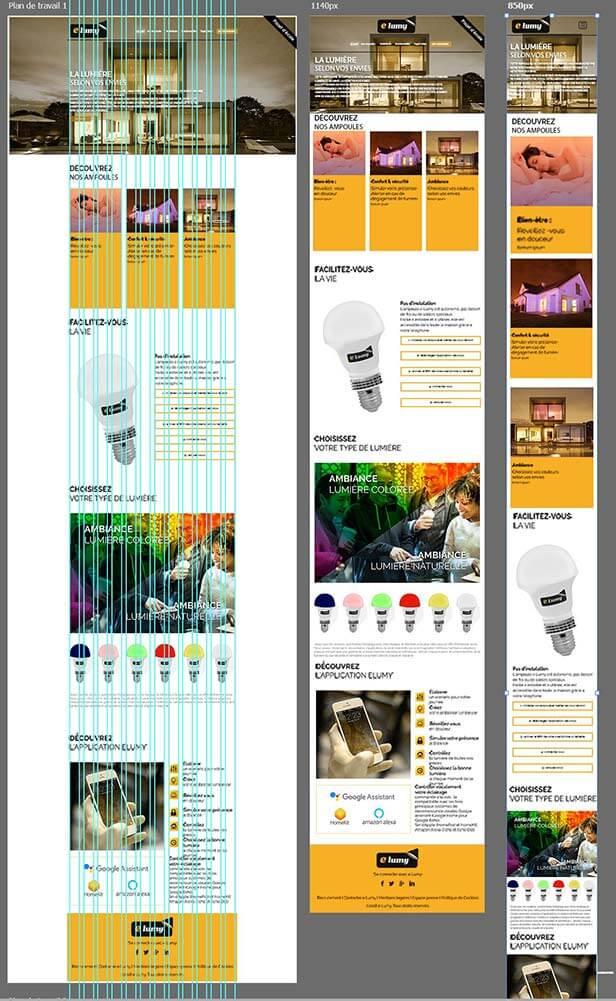 Web designer freelance sepho maquette site web responsive design