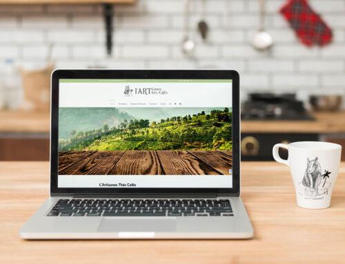 L'Artisanes Thés Cafés – Création de la boutique en ligne