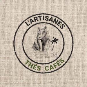 réalisation visuel - création graphique pour l'artisanes thes cafes par Fortier Antony Web Designer